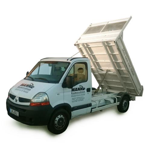 pritschenwagen und lkw kipper mit nutzlast bis 1 2 t. Black Bedroom Furniture Sets. Home Design Ideas